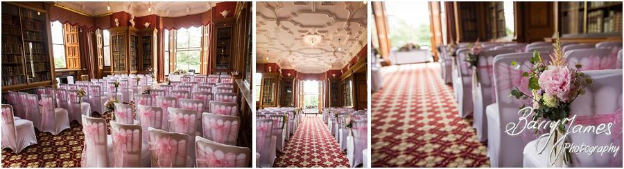 Beautiful details of the wedding at Sandon Hall in Stafford by Stafford Wedding Photographer Barry James