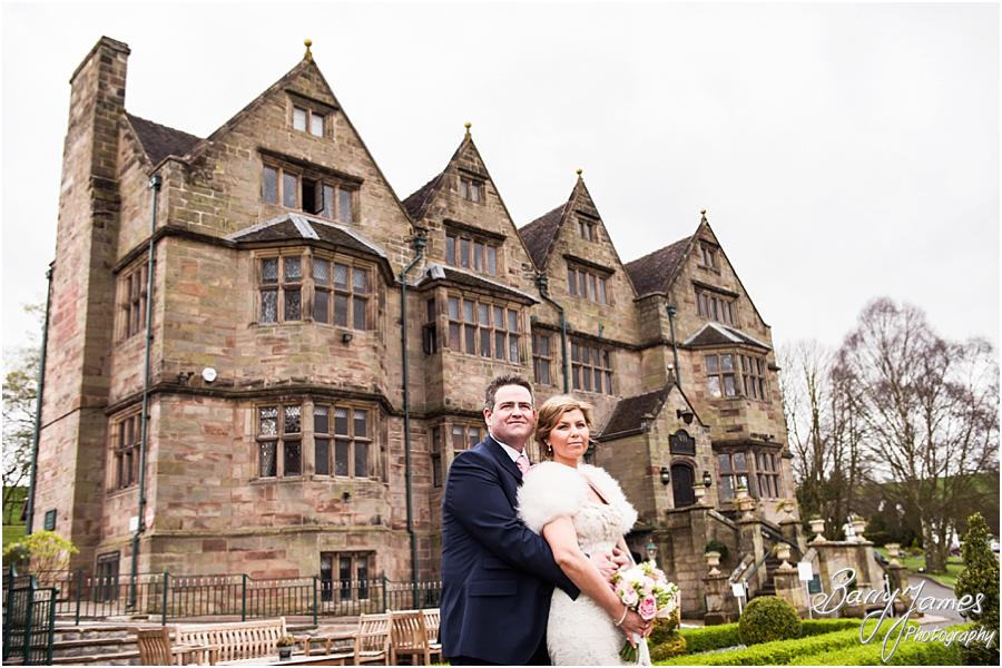 Beautiful wedding photographs at Weston Hall in Stafford by Stafford Wedding Photographer Barry James