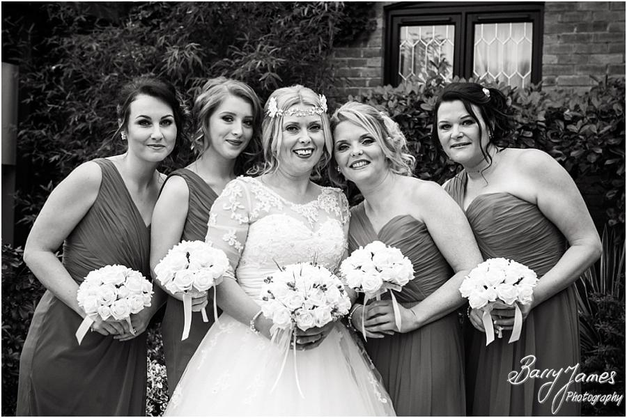 Beautiful photographs of the bridal party at The Moat House in Acton Trussell by Stafford Wedding Photographer Barry James