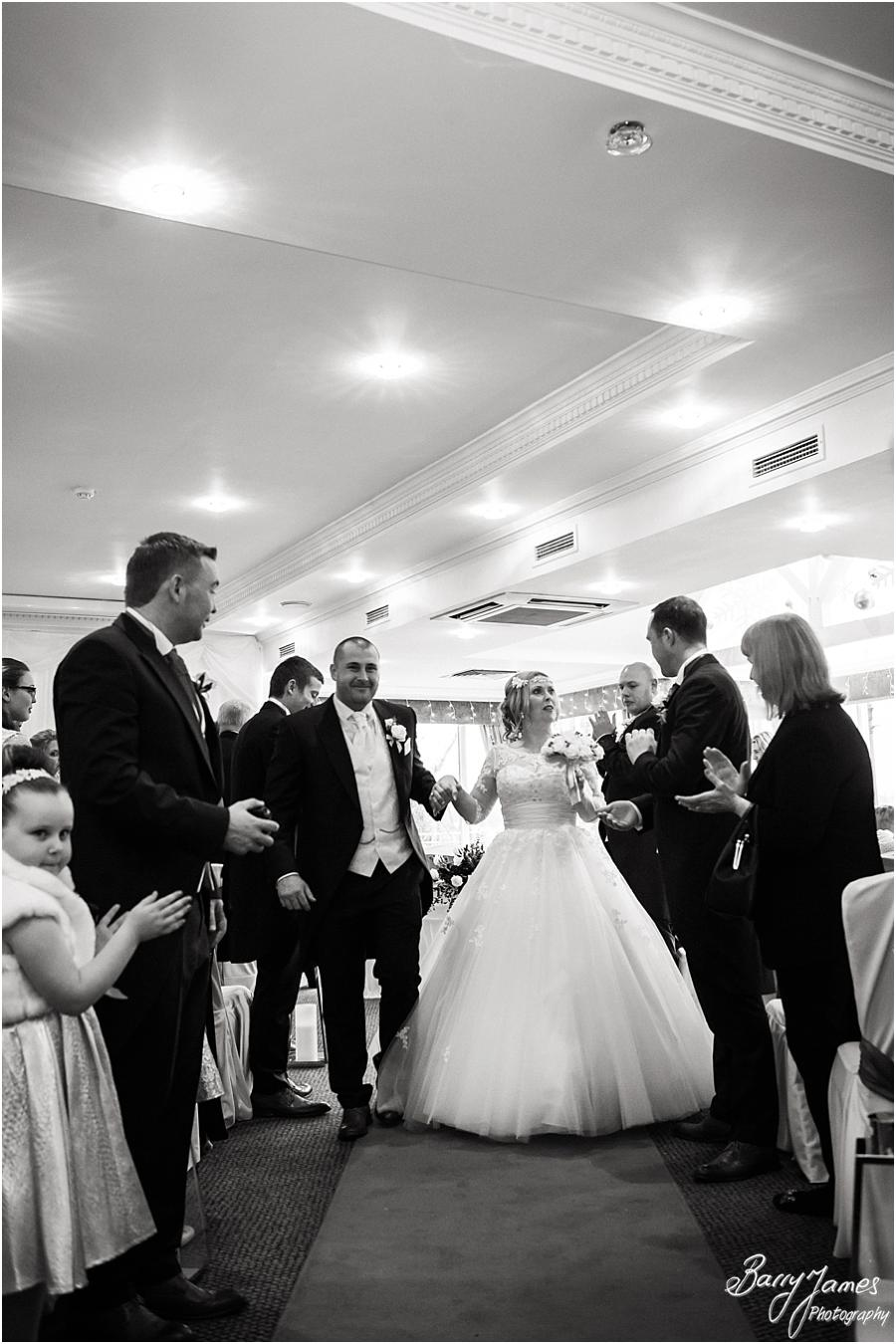 Photographs that capture the beautiful wedding ceremony at The Moat House in Acton Trussell by Stafford Wedding Photographer Barry James