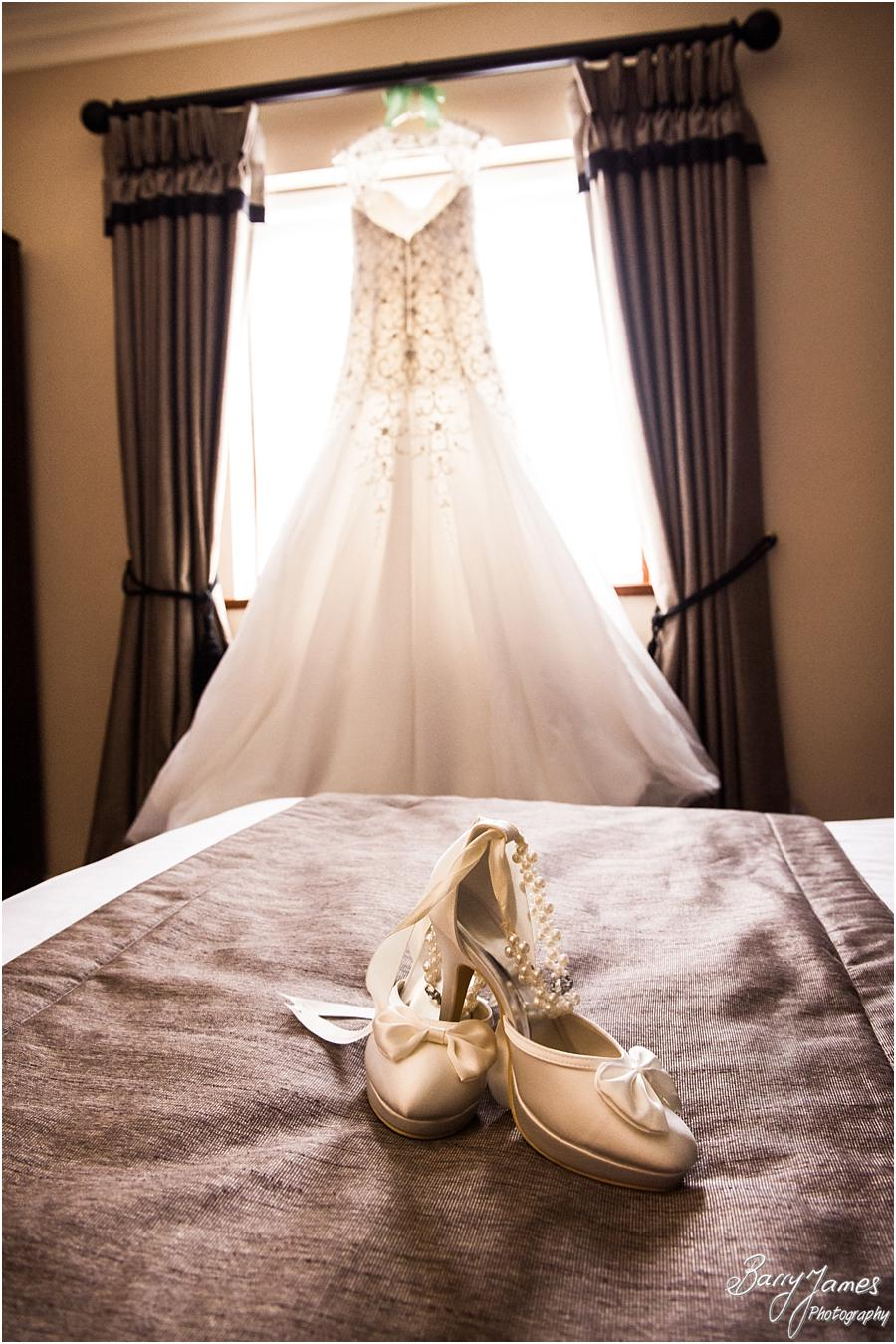 Stunning bridal gown for the fairytale wedding at The Moat House