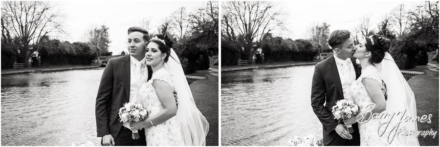 Elegant natural portraits on the canal side