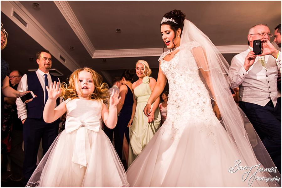 Photos that capture and show the fun of the wedding party at The Moat House